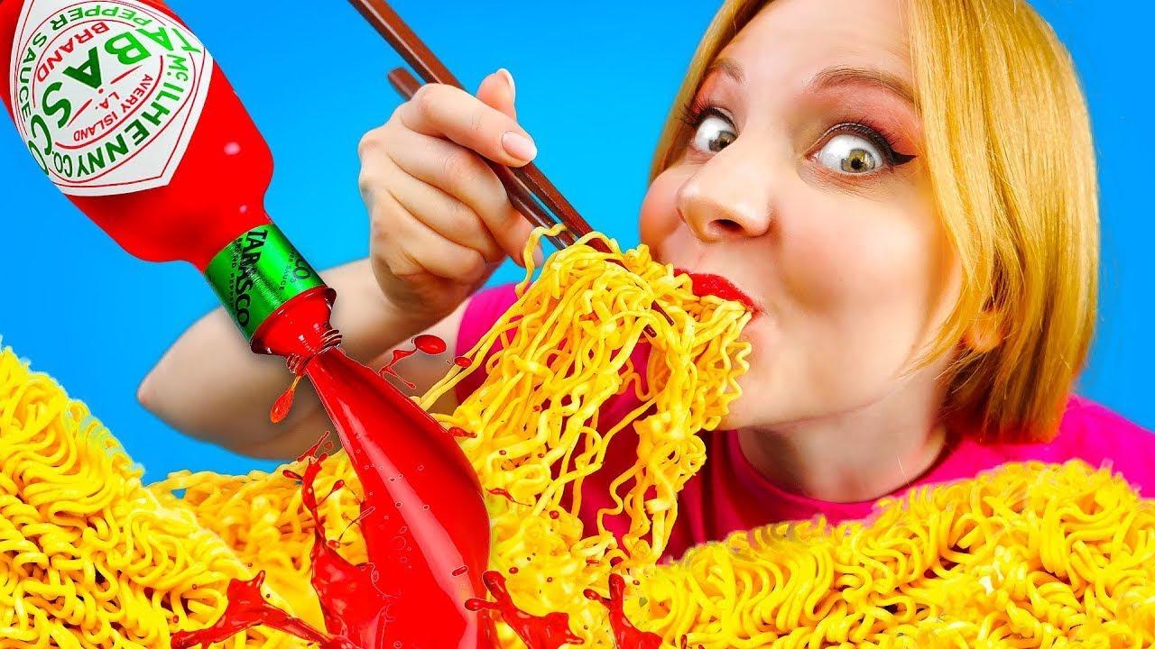 TIPOS DE COMEDORES – Graciosos hábitos de comida por La La Vida