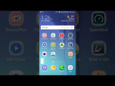 How to on Flash Notification in Samsung J7.
