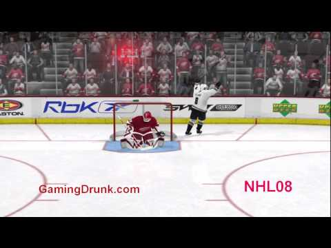 Comparing NHL 11 to NHL 08