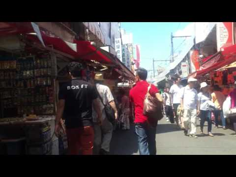 cheap market in Japan