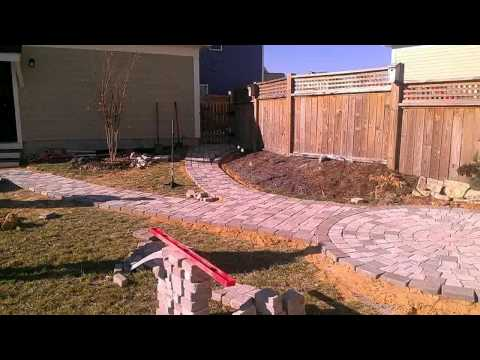 Time Lapse Circular Patio Paver Installation - #3