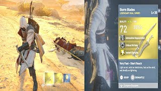 Assassins Creed Origins - Legendary Dual Swords Location & Level 30 Phylake Boss Fight