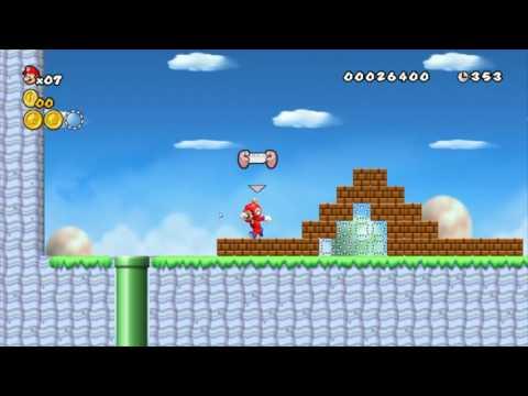 New Super Mario Bros. Wii - Custom Level Test #1
