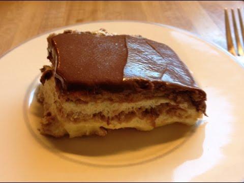 Chocolate Eclair Cake - Easy to Make - No Bake