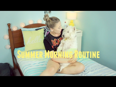 Summer Morning Routine☀️ | TheDogBlog