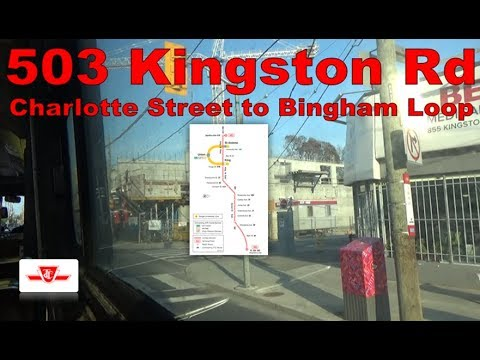 503 Kingston Rd - TTC 1977-1981 UTDC CLRV 4148 (Charlotte Street to Bingham Loop)