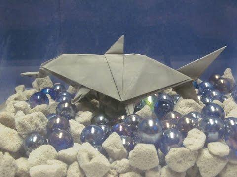 Origami Dinosaur: How to Fold an Ichthyosaurus
