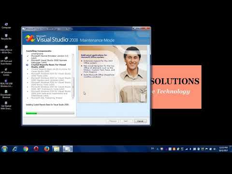 How to install Visual studio 2008 software? (for Visualbasic.net) part-2