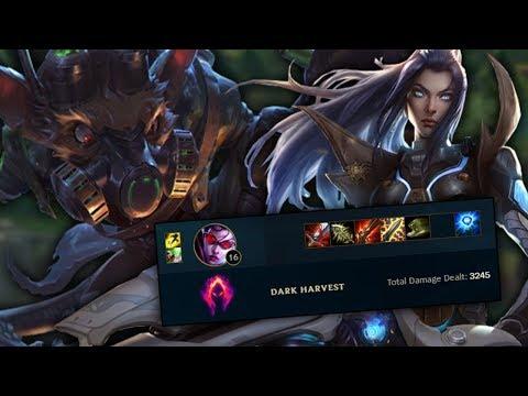 Dark Harvest ADC Burst Off-Meta Build with Foxdrop (League of Legends)