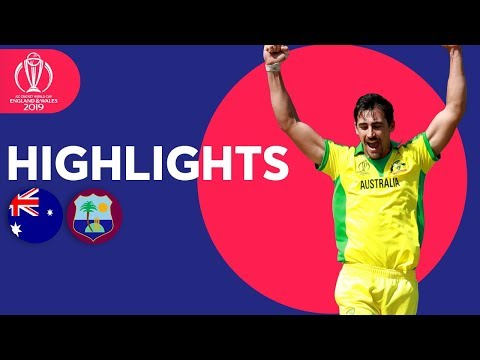 Xxx Mp4 Starc Stars With 5 For Australia Vs West Indies ICC Cricket World Cup 2019 Match Highlights 3gp Sex