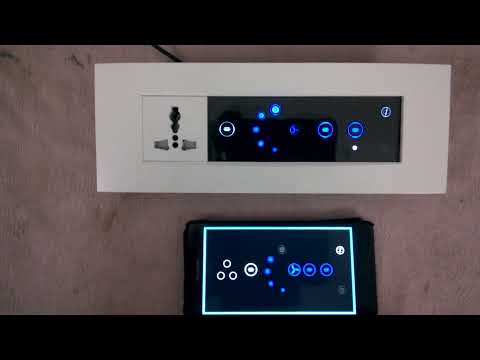 touch switch board