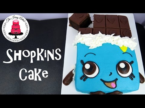SHOPKINS Cake Cheeky Chocolate - How To With The Icing Artist