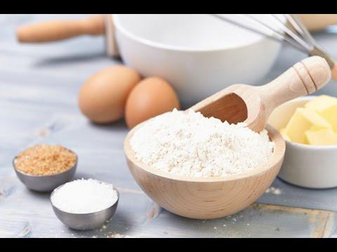 How To Make Cake Flour Recipe   Homemade Cake Flour