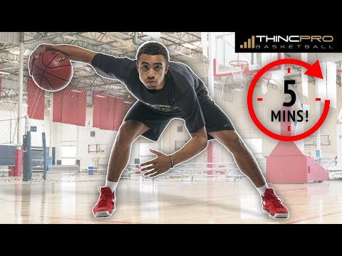 How To: Improve Your Ball Handling!!! Daily 5 Minute Dribbling Routine for ANKLE BREAKER Handles!