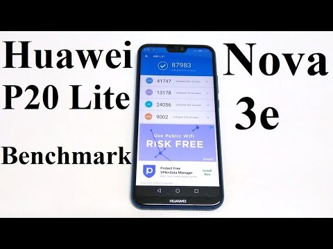Huawei P20 Lite / Nova 3e - Benchmark Tests and Comparison
