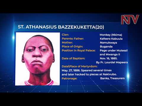 Uganda Martyrs' profiles