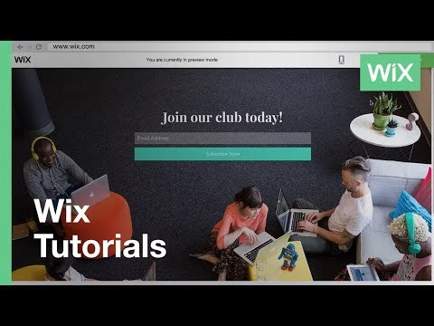 Wix.com | Header and Footer