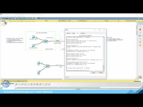 How to configure NAT and PAT in Packet Tracer