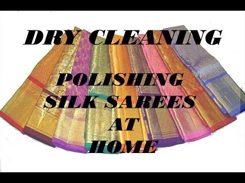 How to Polish Silk Sarees at Home.
