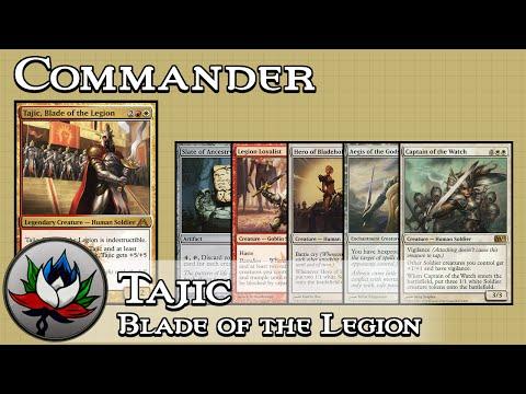 "Tajic, Blade of the Legion ""Budget"" EDH/Commander Deck Tech – MTG!"