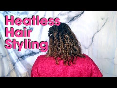 Heatless Hair Styling || The Savvy Beauty