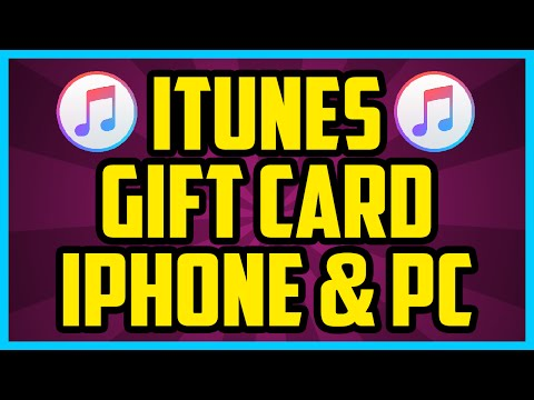 How To Redeem An iTunes Gift Card On iPhone and PC 2017 (SUPER EASY)