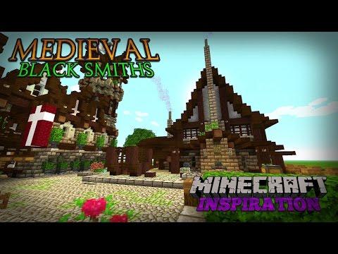 Minecraft: MEDIEVAL BLACKSMITHS INSPIRATION | MEDIEVAL WORLD 2016