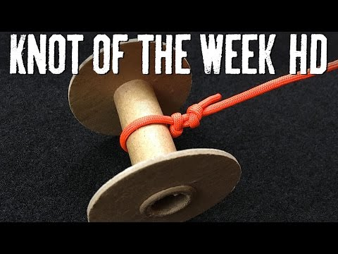 Spool Your Fishing Line onto a Reel with the Arbor Knot - ITS Knot of the Week HD