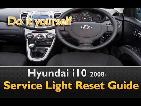 Hyundai I10 Service Light Reset Oil Change