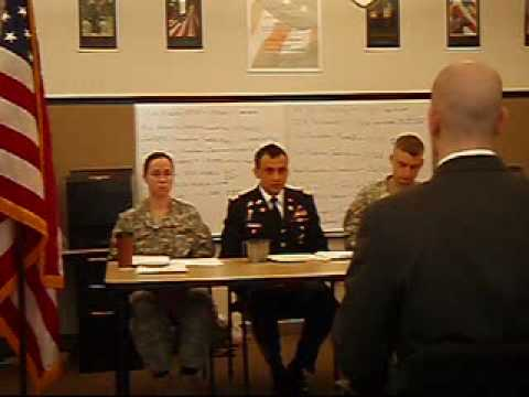 Army Officer Candidate School Board