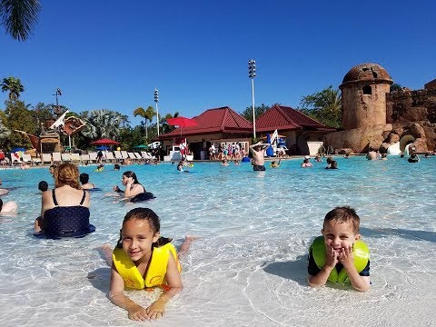 Disney World Part 2: Magic Kingdom, Epcot, and Caribbean Beach Resort Pool and Waterslides