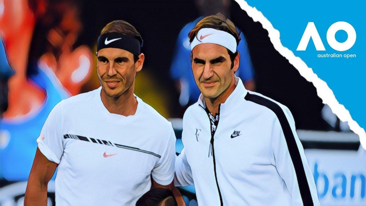 ᴴᴰ⁶⁰ Roger Federer vs Rafa Nadal AO 2017 Final | Extended Highlights