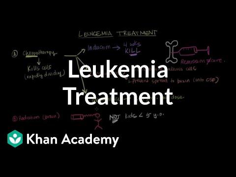 Leukemia treatment   Hematologic System Diseases   NCLEX-RN   Khan Academy