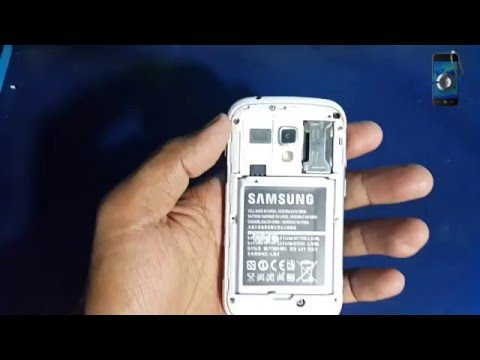 Hard Reset Samsung GT S7562 And Remove Pattern Locks