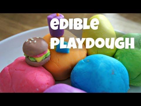 How to Make Colorful Edible Playdough - Marshmallow Fondant