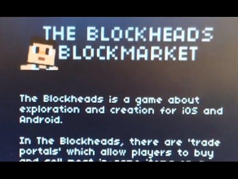 The Blockheads: Blockmarket Secret Website