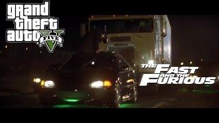 GTA5 - The Fast And The Furious Black Honda Civic Car Build Tutorial [GTA5 Car Build]