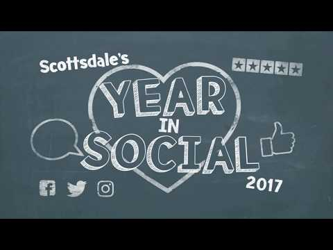 Scottsdale's Year in Social Media - 2017