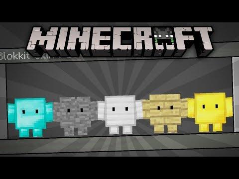 BLOKKIT SKIN PACK! 👈(UwU)👈 | Minecraft 1.2 | ElSirKael