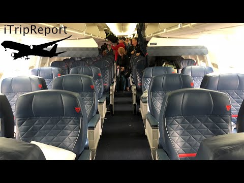 Delta Air Lines 737-800 First Class Review