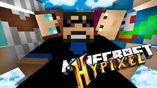 PLAYING DIFFERENT MINECRAFT MINI-GAMES ON HYPIXEL AGAIN CUZ IT