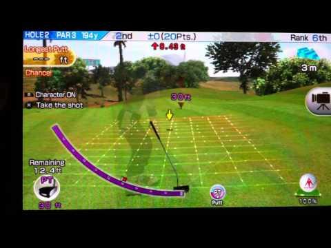 PS Vita Hot Shots Golf Gameplay