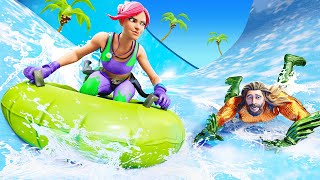 WATERSLIDE For our LOOT in Fortnite