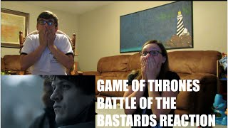 GAME OF THRONES BATTLE OF THE BASTARDS REACTION!! | LEXI & TANNER