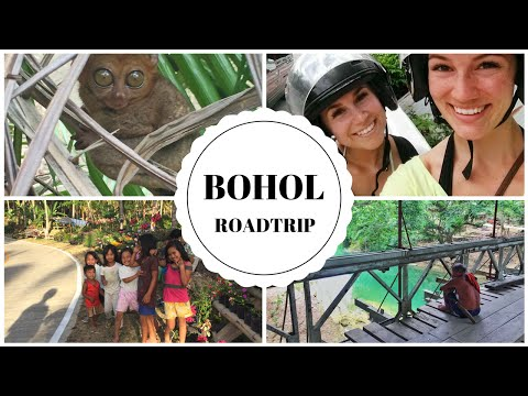 ROAD TRIP AROUND BOHOL (TARSIERS, CHOCOLATE HILLS, LOBOC RIVER, SIERRA BULONES)