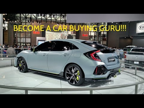 BEST way to buy a new car!! - how I bought my Honda Civic Hatch MANUAL