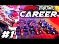 F1 2019 CAREER MODE Part 1 Our Journey To F1 Full F2 Story Mode Playthrough