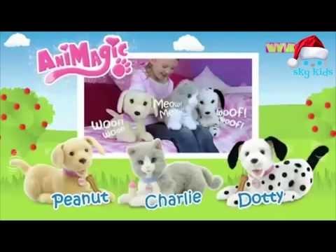 AniMagic 🐶 Animatronic Plush Puppy and Kitten 🐱 🎄Merry Christmas🎄