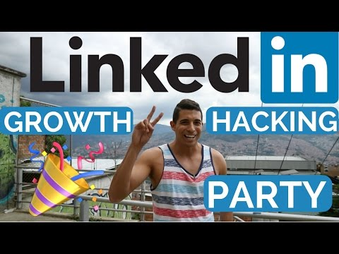 📈 Instant LinkedIn Skills Endorsements 📈 Underground LinkedIn Growth Hacking Party Invitation