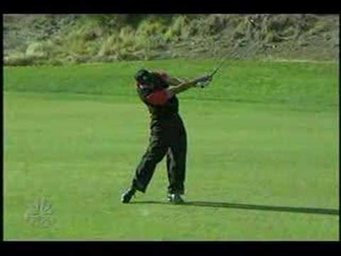 Tiger Woods 3 wood Target 2007 slow motion